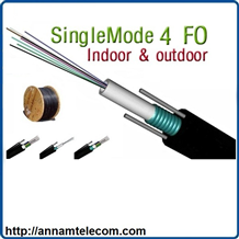 Cáp quang Single mode 4FO (Core or Sợi)