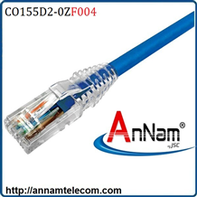 Dây nhảy patch cord 1.2m AMP Cat5 4FT Blue (CO155D2-0ZF004)
