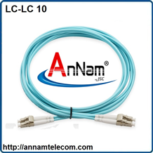 Dây nhảy quang Multimode LC-LC Duplex , Patchcord LC-LC Duplex OM3